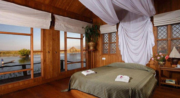 Shwe Inn Tha Floating Resort, Inle, Myanmar