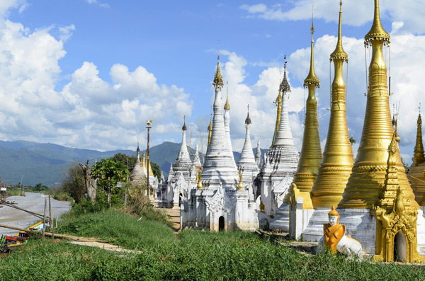 Indein, Shwe Inn Thein, Inle-See